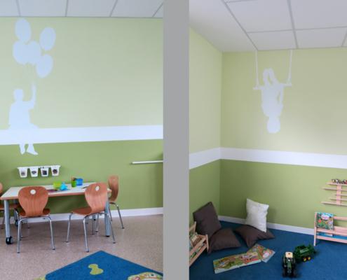 Kindergarten Hollingstedt Farbkonzept vom Planungsbüro Gosch